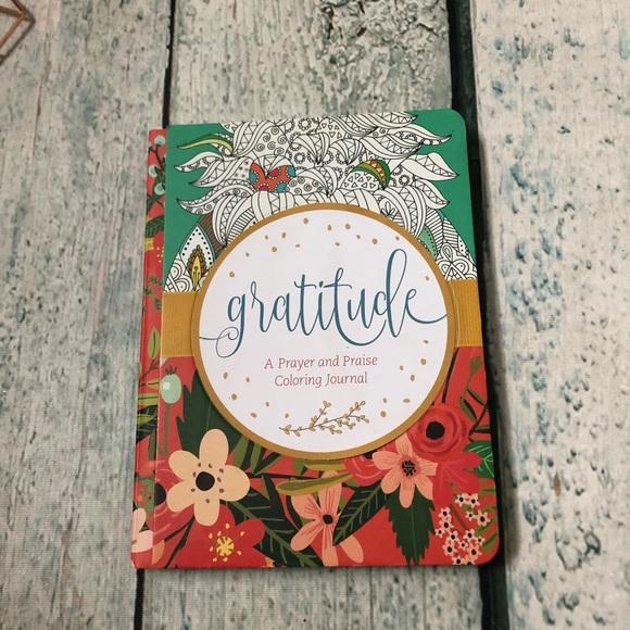 New Gratitude prayer praise colouring journal book